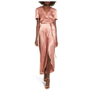 Wayf Dresses - WAYF 'Gwyneth' wrap maxi dress